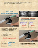 DH-A03  Door Hanger - Air Duct Cleaning