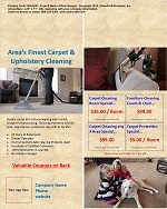DH-CU01: Door Hanger - Carpet-Upholstery Cleaning