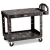 RCP452500BK:  Rubbermaid® Commercial Flat Shelf Utility Cart