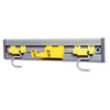 RCP199200GY:  Rubbermaid® Commercial Closet Organizer/Tool Holder Kit