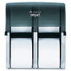 GPC56744:  Georgia Pacific® Professional Compact Quad® Vertical Four Roll Coreless Tissue Dispenser