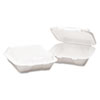 BWK0101:  Boardwalk® Snap-it Foam Hinged Lid Carryout Containers