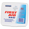 ACM90101:  PhysiciansCare® by First Aid Only® First Aid On the Go Kit