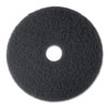 MMM08375:  3M Black Stripper Floor Pads 7200