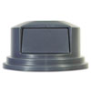 RCP265788GY:  Rubbermaid® Commercial Round Brute® Dome Top
