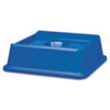 RCP2791BLU:  Rubbermaid® Commercial Untouchable® Recycling Tops