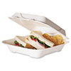 ECOEPHC91:  Eco-Products® Bagasse Hinged Clamshell Containers
