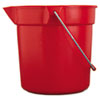 RCP2963RED:  Rubbermaid® Commercial BRUTE® Round Utility Pail