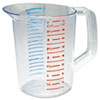 RCP3216CLE:  Rubbermaid® Commercial Bouncer® Measuring Cup