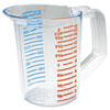 RCP3215CLE:  Rubbermaid® Commercial Bouncer® Measuring Cup