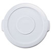 RCP2609WHI:  Rubbermaid® Commercial Round Brute® Lid