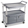 RCP4094GRA:  Rubbermaid® Commercial Xtra™ Instrument Cart