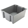 RCP1731GRA:  Rubbermaid® Commercial Palletote® Box