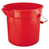 RCP2614RED:  Rubbermaid® Commercial BRUTE® Round Utility Pail