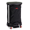 RCP6350BLA:  Rubbermaid® Commercial Premium Step-On Linen Hamper Bag