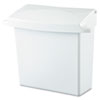 RCP614000:  Rubbermaid® Commercial Sanitary Napkin Receptacle with Rigid Liner