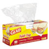 CLO60771:  Glad® Fold-Top Sandwich Bags