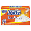 RFPE27585CT:  Hefty® Easy Flaps® Trash Bags
