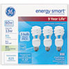 GEL92779:  GE Energy Smart® Compact Fluorescent Spiral Light Bulb