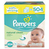 PGC28253CT:  Pampers® Natural Clean Baby Wipes