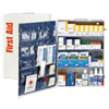 FAO90576:  First Aid Only™ ANSI Class B+ 4 Shelf First Aid Station with Medications