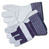 CRW12010M:  Memphis™ Men's Split Leather Palm Gloves
