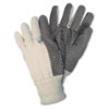 CRW8808:  Memphis™ Men's Dotted Canvas Gloves