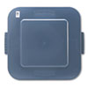 RCP353900GY:  Rubbermaid® Commercial Square Brute® Lid