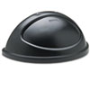 RCP362000BK:  Rubbermaid® Commercial Untouchable® Half-Round Lid
