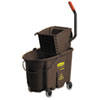 RCP758088BN:  Rubbermaid® Commercial WaveBrake® Bucket/Wringer Combos