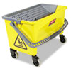 RCPQ90088YW:  Rubbermaid® Commercial HYGEN™ HYGEN™ Press Wring Bucket