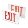 TCO07230:  Tatco LED Exit Sign with Battery Back-Up