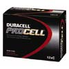 DRCPC1400:  Duracell® PROCELL® Alkaline Batteries, C Size