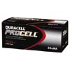 DRCPC1500BKD:  Duracell® PROCELL® Alkaline Batteries, AA Size