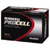 DRCPC2400BKD:  Duracell® PROCELL® Alkaline Batteries, AAA Size