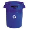 RCP2632-73 BLU:  Brute® Round Recycling Containers