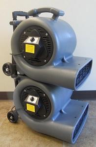 Cleancraft 1 2hp Air Mover Wheel Cart 2200 Cfm