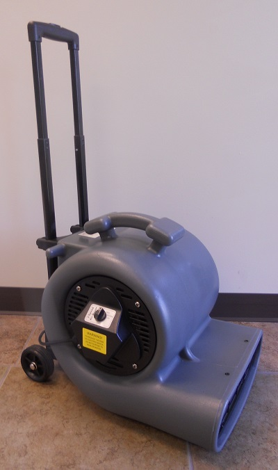 Cleancraft 1 2hp Air Mover Wheel Cart 2200 Cfm