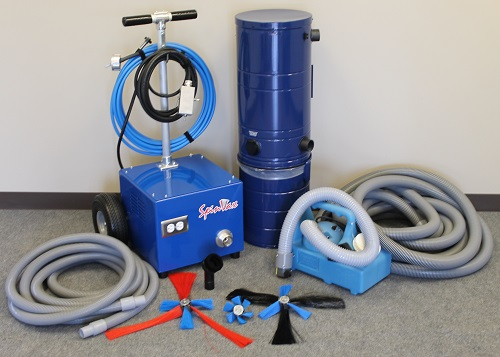 Spinvax 1000xt Air Duct Cleaning Equipment Package