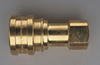 1/4in Female Quick Connector Brass