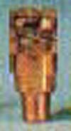 B22, 1/4 inch mpt, FEMALE CONNECTOR