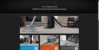 CCWTMP-002:  Carpet Cleaning Website Design 002