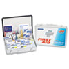 FAO90018:  PhysiciansCare® by First Aid Only® Office/Warehouse First Aid Station for Up to 75 People