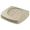RCP268988BG:  Rubbermaid® Commercial Untouchable® Swing Top Lid