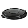 RCP264560BLA:  Rubbermaid® Commercial Vented Round Brute® Lid