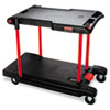 RCP430000BK:  Rubbermaid® Commercial Convertible Utility Cart