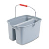 RCP262888GY:  Rubbermaid® Commercial Double Utility Pail