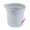 RCP296300GY:  Rubbermaid® Commercial BRUTE® Round Utility Pail