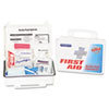 ACM91100:  PhysiciansCare® by First Aid Only® Personal Protection Bodily Fluid Clean-Up Kit