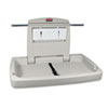 RCP781888:  Rubbermaid® Commercial Horizontal Baby Changing Station